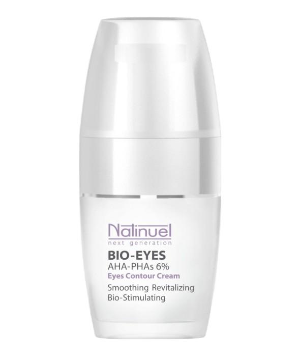 Biostimulējošs - mitrinošs krēms ādai acu zonā